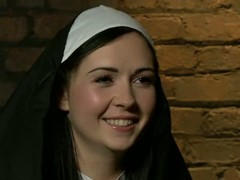 Angell Summers is a wild nun turn this way merits a punishment. Curvy shadowy with large a-hole acquires tied, spanked and sexually driven by 2 guys in black. Its a painful punishment!
