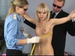 Hawt blond receives a peculiar gyno exam