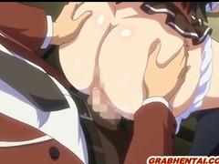 Bigboobs manga coed wetpussy pushing and creampie