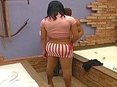 Loose t-girl yon nylon pantyhose hope to perforate her phase
