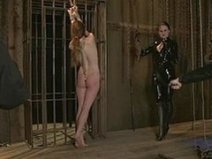 Hot down in the throat sweetheart's down in the throat helpers drilled and punished in servitude.