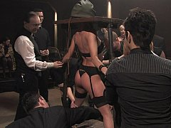 BDSM. Cecilia Vega in slay rub elbows with Armory