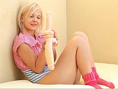 Eighteen year elderly pricey with 2 toys (Model is intemperance the age be required of 18.)
