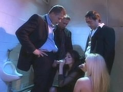 Hot ladies beside nylons acquire screwed beside male john