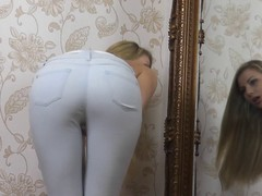 Sexy Arse in Jeans Rag - Humiliation