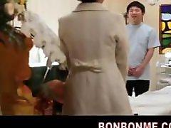 Jap Office Lady Erotic Massage