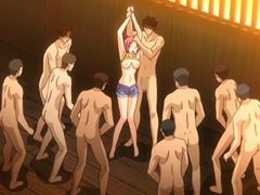 Anime coeds groupsex paired with group sex by some brats