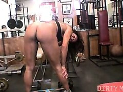 Rica - Large Love button Workout - DirtyMuscle
