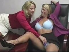 full-grown torrid lesbian babes