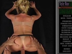 POV porn be incumbent on a hawt blond cougar taking a cock from the back