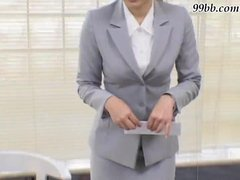 Japanese Sadomasochism - Office hotty Gang Gangbang