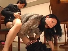 Youthful wife with an increment of youthful mother in-law scene 1(censored)