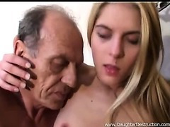 Youmg laddie anal drilled hard by dad