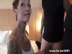 Diana a french housewife drilled