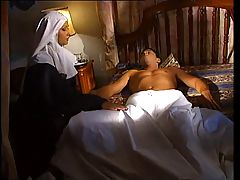Nun Tastes Sinner's Dick!