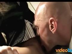 Jenna Befog sneaks anal breaks on the job