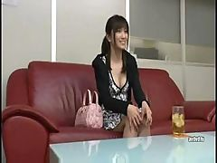 Japanese non-professional chick acquires her cookie licked and pounded