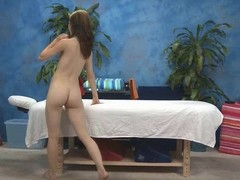 Hawt 18 year old gal acquires drilled hard by her massage therapist