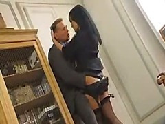 Dominate brunette hair office honey receives screwed close by a sudden hit and oversee