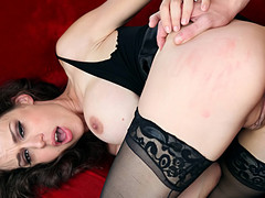 Marvelous big boobed mother I'd like to fuck receives screwed in one as well as the other her holes !