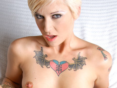 POV deep procure punk girl Kleio eating a cock in the gazoo!