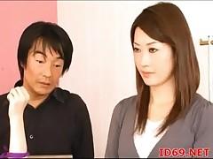 Japanese AV Whittle receives screwed