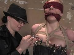 Hot Sarah Jane Ceylon acquires abused wide of redhead headmistress