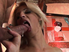 Barra Brazenness has dick-hungry bawdy cleft and takes Leny Ewils pole