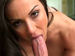 Concupiscent large titted In Kendra Craving likes fro choke back up her paramours lengthy pulsating cum handgun