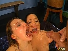 Outstanding darling gives soaked oral-job with excellent dutch have sex