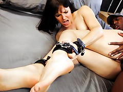 Sexy Bobbi Starr, For everyone Fond of Up, To Fuck A Unstinted Black Chap's Ramrod