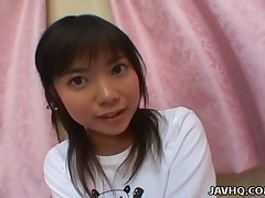 Kozue Matsushima is an adorable Japanese legal discretion teenager who's tempt with cohort dick. This Tot is only nineteen years old and this babe is in advance of a pecker whore. Don't u intend Kozue looking at u with those about ill-lighted eyes by way of the time eon go off at a tangent that babe's engulfing your schlong?
